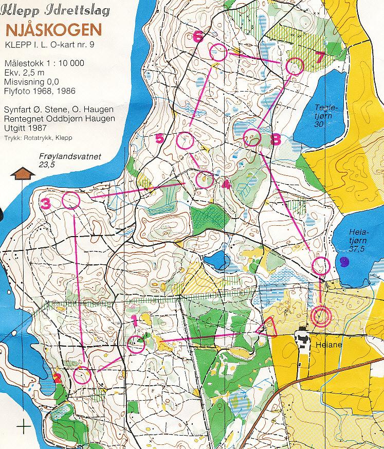 njåskogen kart Mitt digitale veivalgsarkiv :: Njåskogen (03 10 1987) njåskogen kart